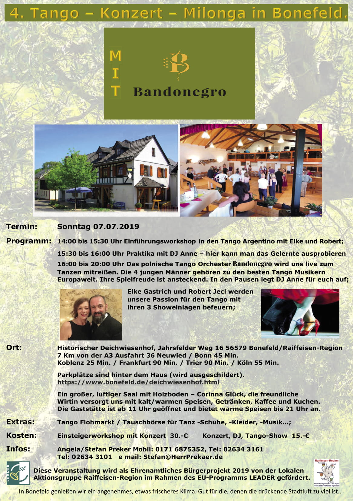 Milonga in Bonefeld